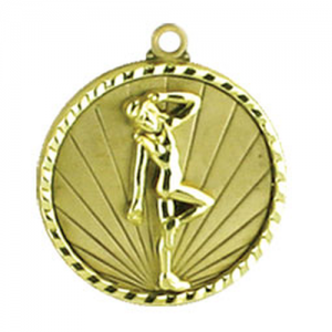 1068-18G Dance Medal 50mm