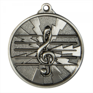 1070-MUSIC-S Music Medal 50mm