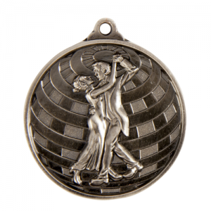 1073-19S Dance Medal 50mm
