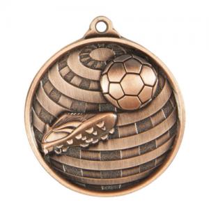 1073-9BR Soccer Medal