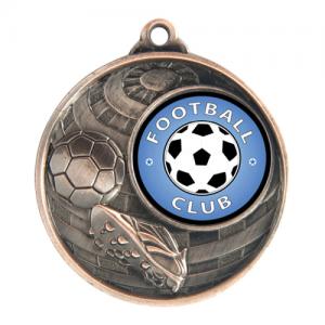 1073C-9BR Soccer Medal