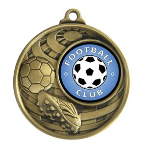 1073C-9G Soccer Medal