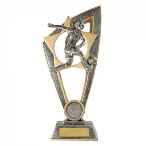 10C-FIN9F Soccer Trophy 230mm