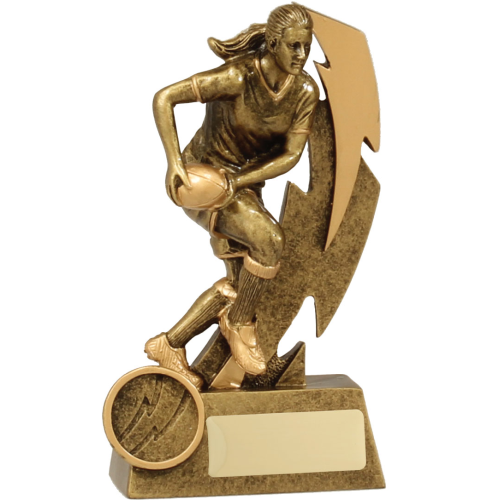 11612A Rugby Trophy 150mm