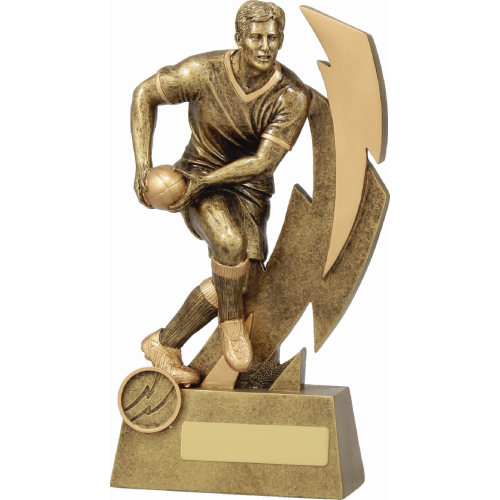 11613D Rugby Trophy 225mm