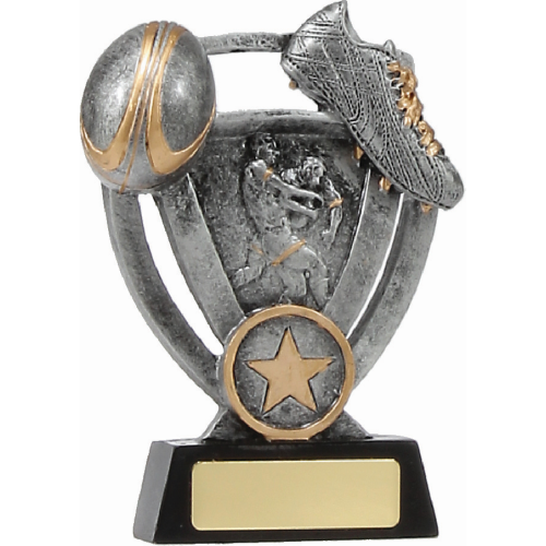 12739M Rugby Trophy 130mm