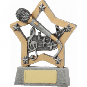 12921 Music Trophy 130mm