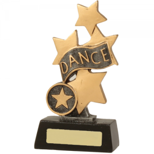 13019B Dance Trophy 150mm