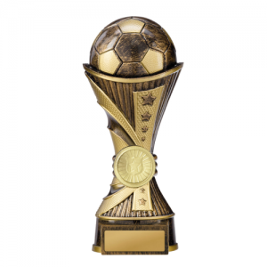 222-9BRB Soccer Trophy 180mm
