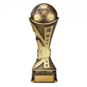 222-9BRD Soccer Trophy 220mm