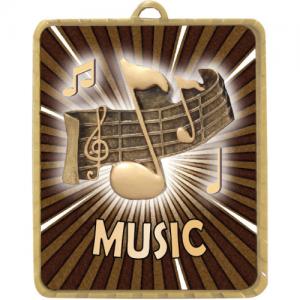 LM021G Music Medal