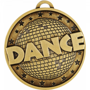 MC819G Dance Medal