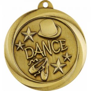 ME932G Dance Medal 50mm