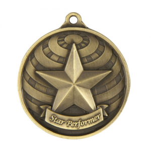 1073-37G Achievement Medal 50mm