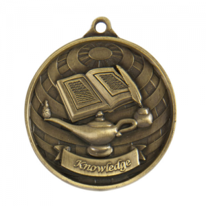 1073-39G Academic Medal 50mm