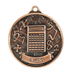 1073-40BR Academic Medal 50mm
