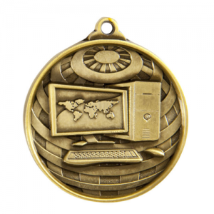 1073-42G Academic Medal 50mm