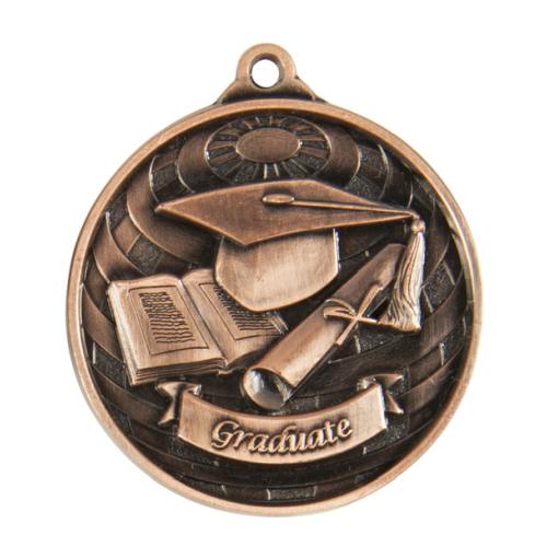 1073-52BR Academic Medal 50mm
