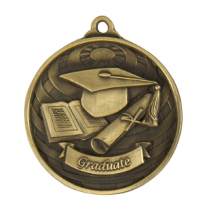 1073-52G Academic Medal 50mm