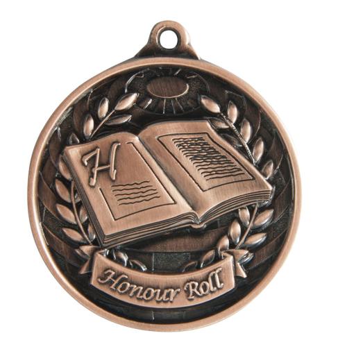 1073-53BR Academic Medal 50mm