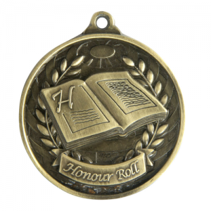 1073-53G Academic Medal 50mm