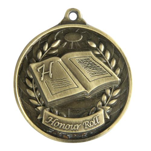 1073-53G Academic Medal 50mm