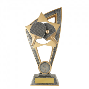 10B-FIN59G Table Tennis Trophy 200mm