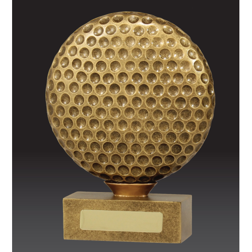13917A Golf Trophy 125mm