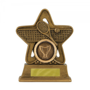587-12A Tennis Trophy 110mm