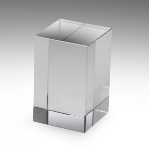 CB80 Crystal Trophy 50x50x80mm high