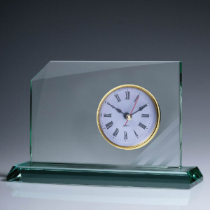 CL4103 Glass Clock 115mm
