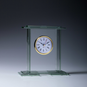 CL417 Glass Clock 170mm