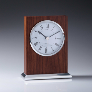 CL704 Wood Clock 140mm