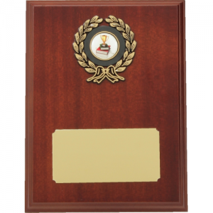 LP6 Wooden Plaque 200mm