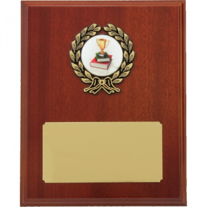 LP8 Wooden Plaque 250mm