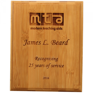 QB7 Wooden Plaque 230mm