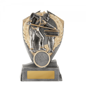 W18-2912 Billiards, Snooker, Pool Trophy 125mm