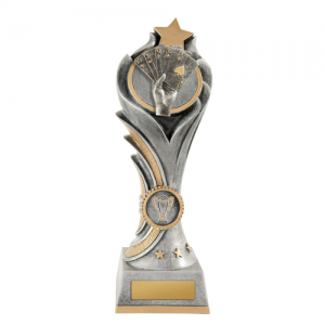 W18-3006 Poker, Cards Trophy 200mm